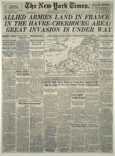 New York Times - June 6, 1944