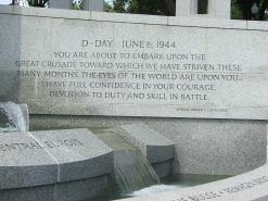 National World War II Memorial D-Day Message