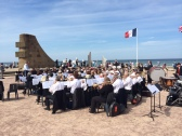 D-Day 70 Memorial Wind Band at Les Braves in Saint-Laurent-sur-Mer - June 6 Memorial Concert