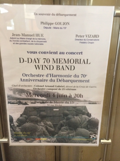 Place de la Mairie - Mairie du 15eme Arrondissement - Concert Advertisement
