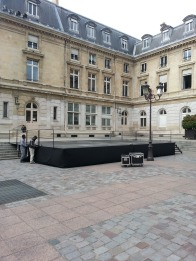 Place de la Mairie - Mairie du 15eme Arrondissement - June 4 Memorial Concert Space
