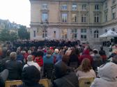 Place de la Mairie - Mairie du 15eme Arrondissement - June 4 Memorial Concert